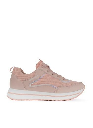 Slazenger Slazenger ZENZI Sneaker Kadın Ayakkabı Somon Somon